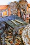 Inzameling van het Huis van Menezes Braganza Pereira, India Royalty-vrije Stock Foto's