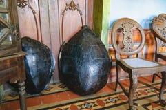 Inzameling van het Huis van Menezes Braganza Pereira, India Stock Foto's