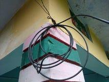 Inzameling van kabels Stock Fotografie