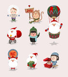 Inzameling van Kerstmis en de winter vector illustratie