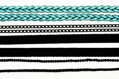 Inzameling van kettingen en kabels Royalty-vrije Stock Fotografie