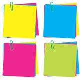 Inzameling van kleuren Stock Afbeeldingen
