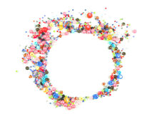 Inzameling van Kleurrijke Parelsdecoratie Royalty-vrije Stock Afbeeldingen