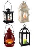 Inzameling van lantaarns Royalty-vrije Stock Afbeeldingen