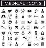 Inzameling van medische pictogrammen Royalty-vrije Stock Fotografie