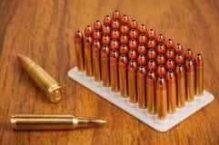 Inzameling van munitie Stock Foto