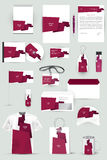 Inzameling van ontwerpelementen voor collectieve identiteitszaken, reclame of visualisatie Royalty-vrije Stock Fotografie