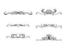 Inzameling van Ornamenten #03 royalty-vrije illustratie