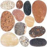 Inzameling van rotsen Stock Afbeelding