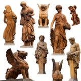 Inzameling van standbeelden Royalty-vrije Stock Afbeelding