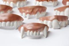 Inzameling van tandprothesis Stock Afbeeldingen