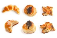 Inzameling van tarwe gebakken goederen Royalty-vrije Stock Foto's