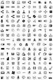 Inzameling van tekens Stock Afbeeldingen