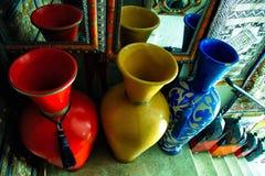 Inzameling van Urnen stock afbeelding
