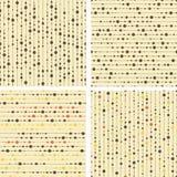 Inzameling van vector naadloos patroon Royalty-vrije Stock Fotografie
