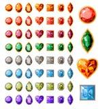 Inzameling van verschillende juwelen Stock Foto