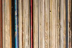Inzameling van vinylverslagen Royalty-vrije Stock Foto's