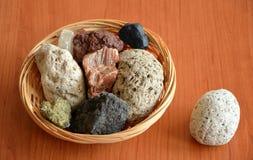 Inzameling van vulkanische rotsen Royalty-vrije Stock Afbeelding