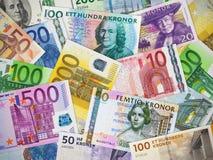 Inzameling van wereldgeld stock afbeeldingen