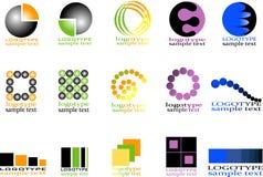 Inzamelingen van logotype Royalty-vrije Stock Afbeelding
