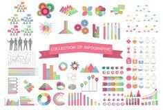 Inzamelings bedrijfs infographic concept Stock Foto