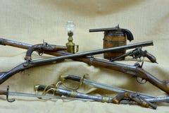 Inzamelingswapens Stock Foto's