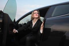 αυτοκίνητο επιχειρηματ&io Στοκ εικόνα με δικαίωμα ελεύθερης χρήσης