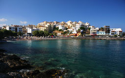 ażio Crete Nikolaos Fotografia Royalty Free