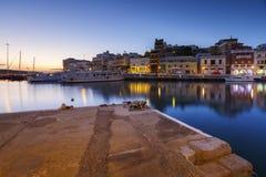 ażio Crete Nikolaos Obraz Royalty Free