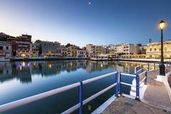 ażio Crete Nikolaos Zdjęcie Royalty Free