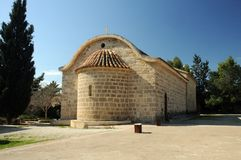 Ażio Georgios monaster przy Mavrovouni, cibora Obrazy Royalty Free