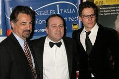 Ioan Gruffudd, Joe Mantegna, Pascal Vicedomini Royalty Free Stock Images