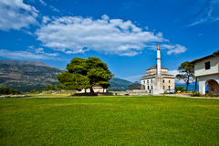 Ioannina in Greece. The view of Ioannina in Greece, Ali Pasha island Stock Image
