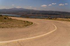 Ioannina miasta fotografii wiosny panoramiczny czas Greece Fotografia Royalty Free