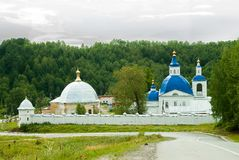 Ioanno-Vvedensky female monastery. Russia Stock Photo