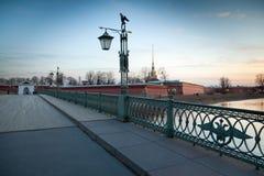 Ioannovsky Bridge Royalty Free Stock Photo
