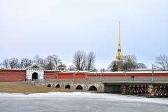Ioannovsky Bridge in St.Petersburg. Stock Photography