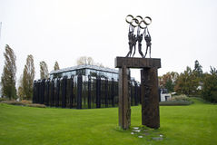IOC大厦洛桑 库存图片