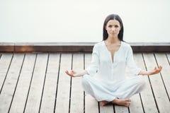 A ioga é minha vida Imagens de Stock