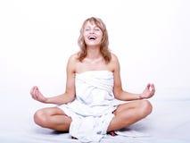 ioga Imagens de Stock Royalty Free