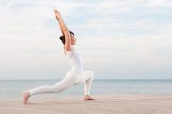 Ioga e meditação Foto de Stock