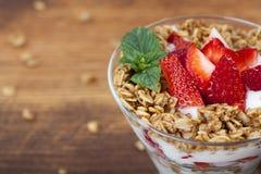 Iogurte Fotografia de Stock
