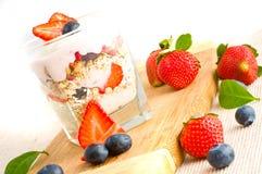 Iogurte fresco imagem de stock royalty free