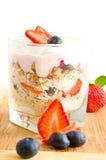 Iogurte fresco imagens de stock royalty free