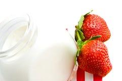 Iogurte fresco foto de stock