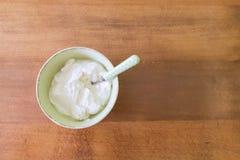 Iogurte grego Imagem de Stock Royalty Free
