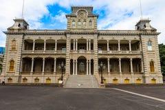 Iolani宫殿,檀香山,夏威夷 免版税库存图片