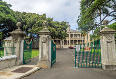 Iolani pałac w Honolulu Hawaje Obraz Stock