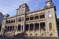 Iolani Palace Royalty Free Stock Photography