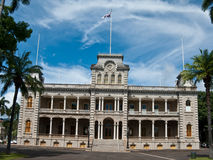 Iolani Palace in Honolulu, Hawaii Royalty Free Stock Photo